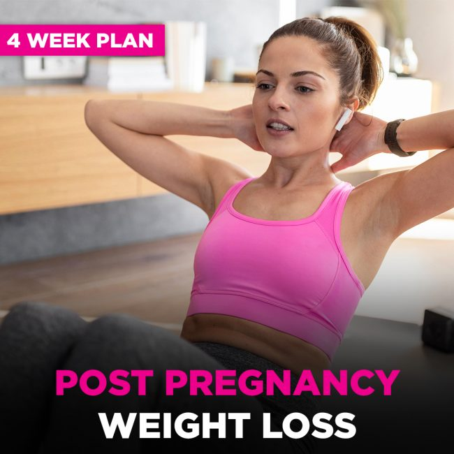 Post Natal Fitness Plan Fitbee